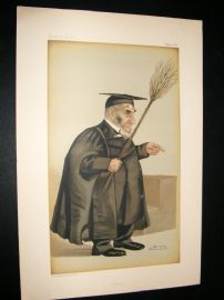 Vanity Fair Print 1887 Rev James Leigh Joynes